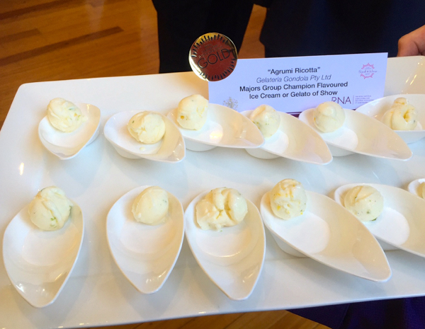 Ricotta, Royal Queensland Food & Wine Show