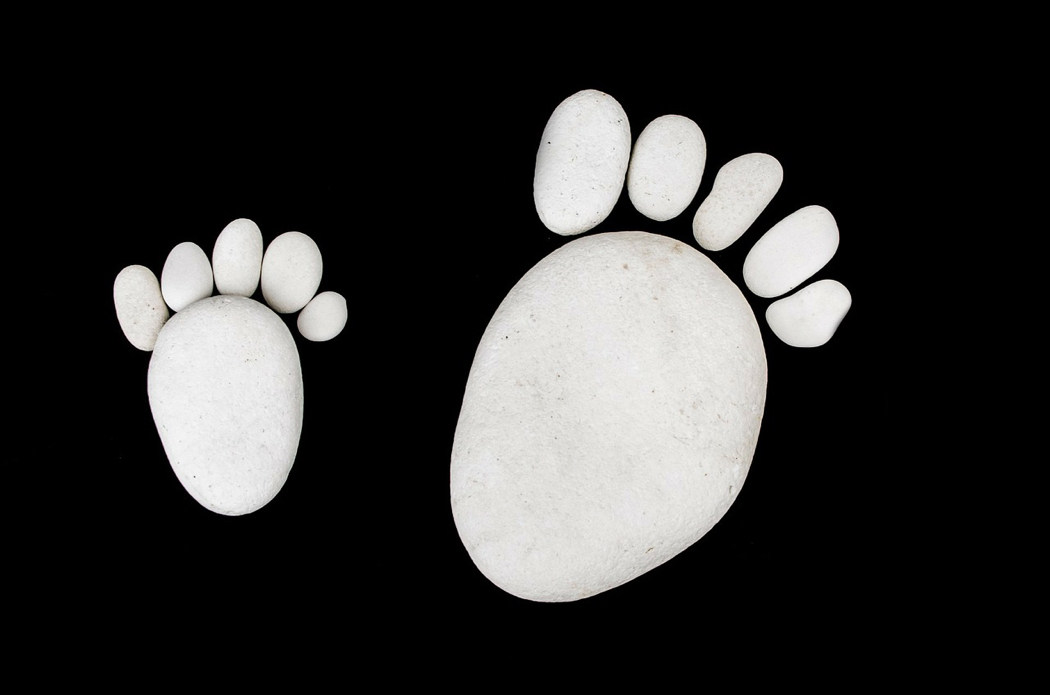 Two Footprints
