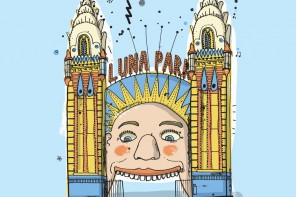 Luna Park, from All The Buildings In Sydney, by James Gulliver Hancock