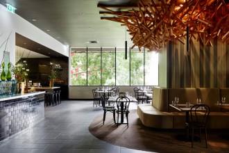 Nest Restaurant & Bar, Roma Street, Brisbane.
