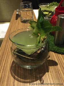Cocktail at Nest Restaurant and Bar, Brisbane.