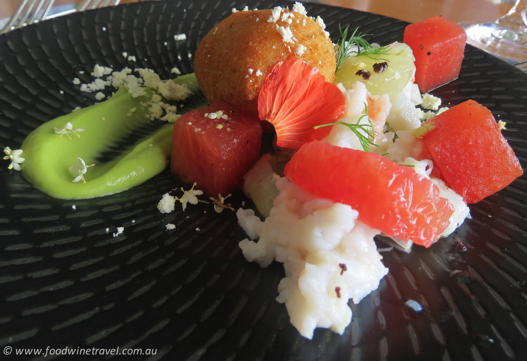 Peppers Noosa Spanner Crab Entree