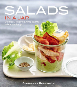 Salads in a Jar, by Courtney Roulston.