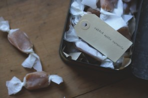 A Table In The Orchard | Salted Apple Caramels