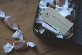 Salted Apple Caramels, from A Table In The Orchard, by Michelle Crawford