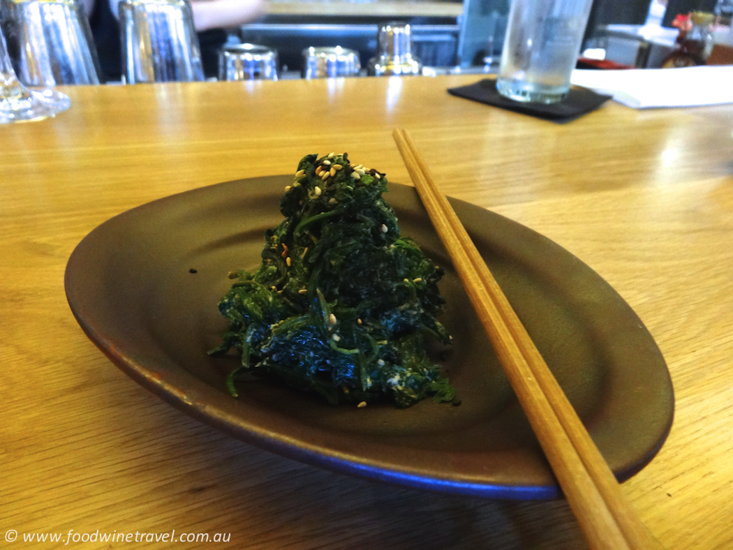 Spinach with goma dressing, Tokonoma Sydney