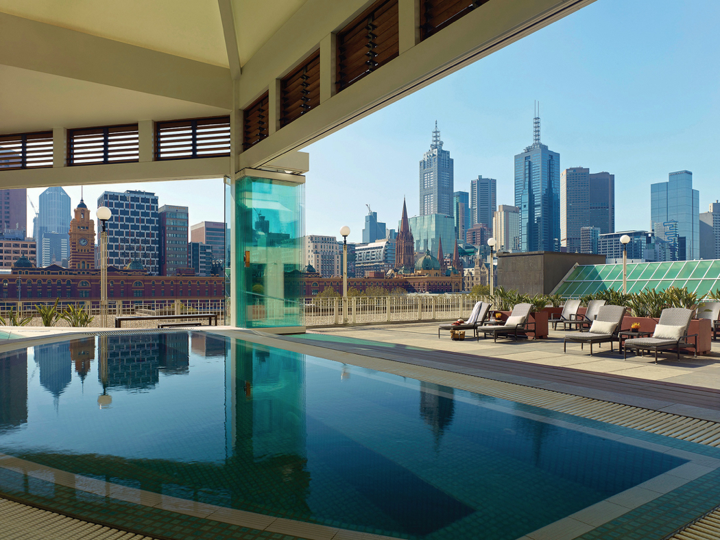 The Langham Melbourne Jacuzzi