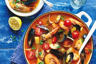 Fish Soup from The Meditteranean Diet Cookbook, by Dr Catherine Itsiopoulos