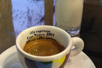 Illy coffee, Host 2015, Milan
