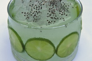 Iced Lime and Chia Smoothie, from Lima The Cookbook
