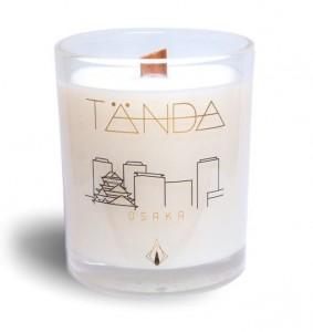 Osaka White candle