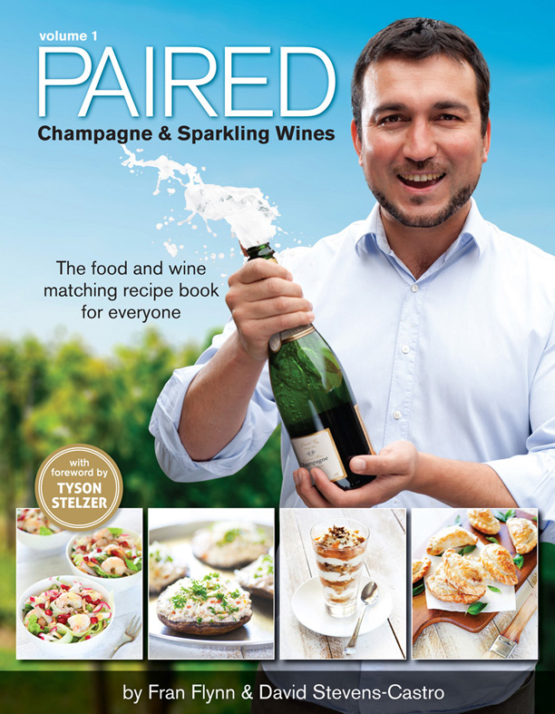 Paired Matching Champagne and Sparkling Wines with food