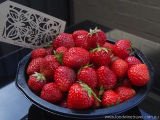 Strawberries In My Kitchen