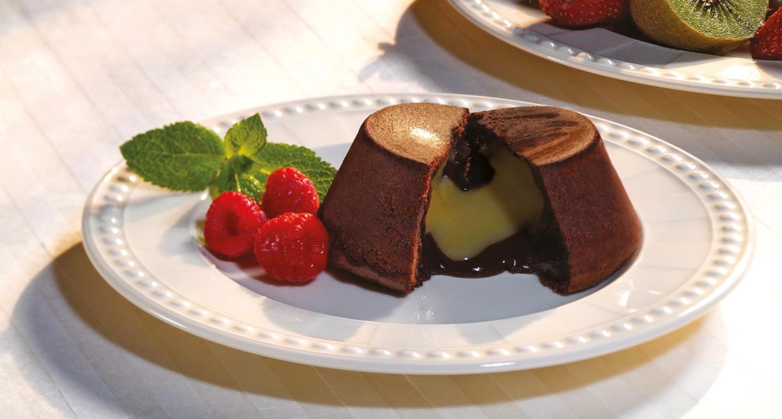 Chocolate Fondant with Mustard