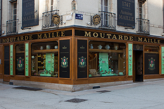 Maille Mustard Shop in Dijon