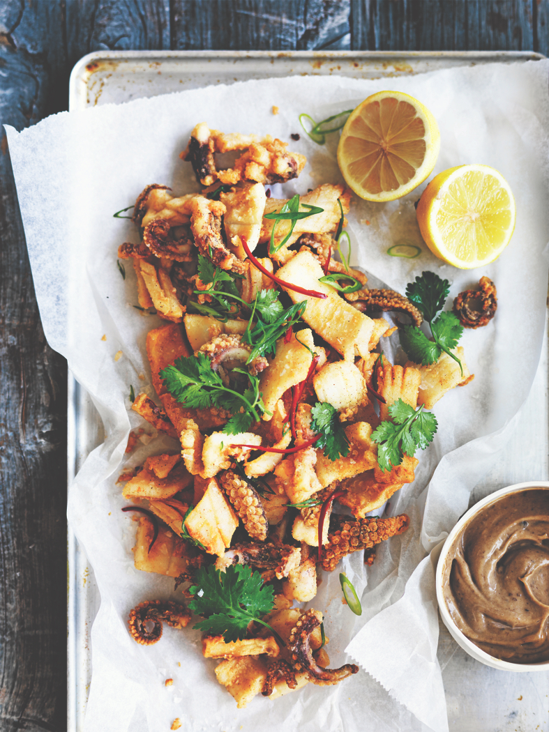 Salt & Pepper Squid from The Blue Ducks' Real Food