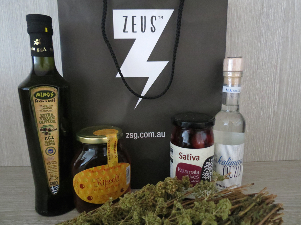 Zeus Greek Restaurant Goodies In My Kitchen with Celia of Fig Jam and Lime Cordial