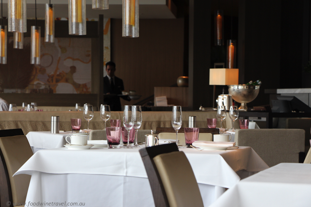 The dining room at the park hyatt sydney food wine travel for Best dining rooms in sydney