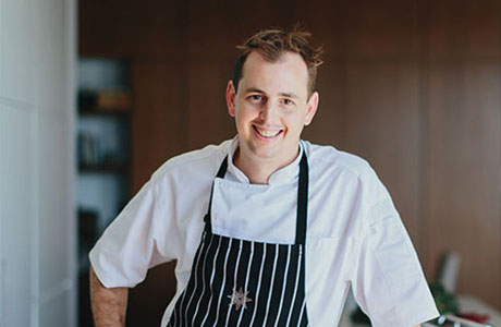 Will Wallace, chef at Spicers Balfour Hotel, New Farm, Brisbane
