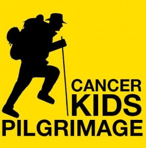 Mike Trench walking the Via Francigena to raise money for Kids With Cancer.