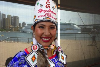 Vanessa Stiffarm 2016 Calgary Stampede Indian Princess