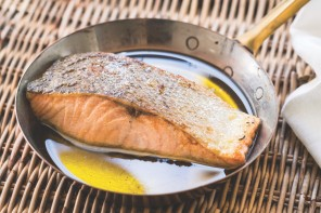 Everyday Mediterranean and a recipe for Salmon Poached in Olive Oil