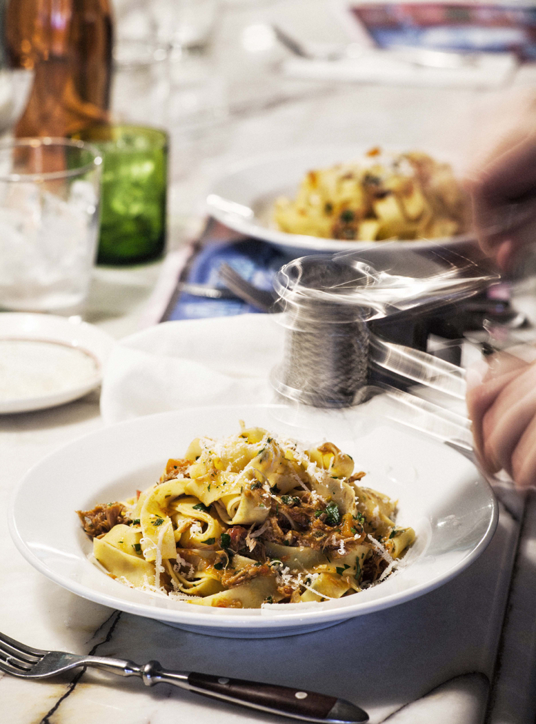 Alla Fratelli and a recipe for Pappardelle with Duck Ragu