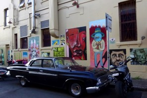 Postcard of the Week Goddard Street Art Newtown Sydney