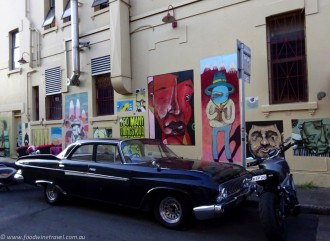 Postcard of the Week Goddard Street Art Newtown Sydney