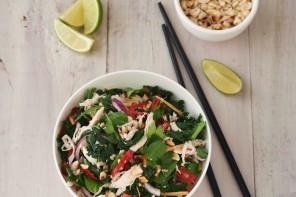 Vietnamese chicken salad recipe, from Love Kale.