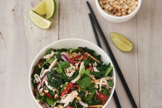 Vietnamese chicken salad recipe, from Love Kale.