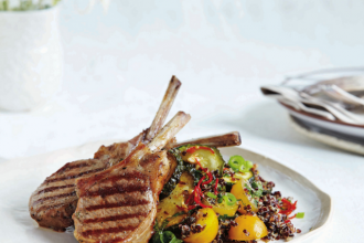 Lamb cutlets recipe, from A Simple Table