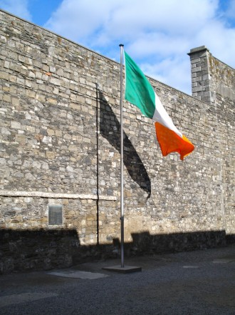 Easter Uprising Kilmainham Jail Irish Flag