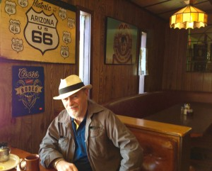 Maurie on Route 66