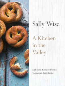 Sally Wise book A Kitchen In The Valley