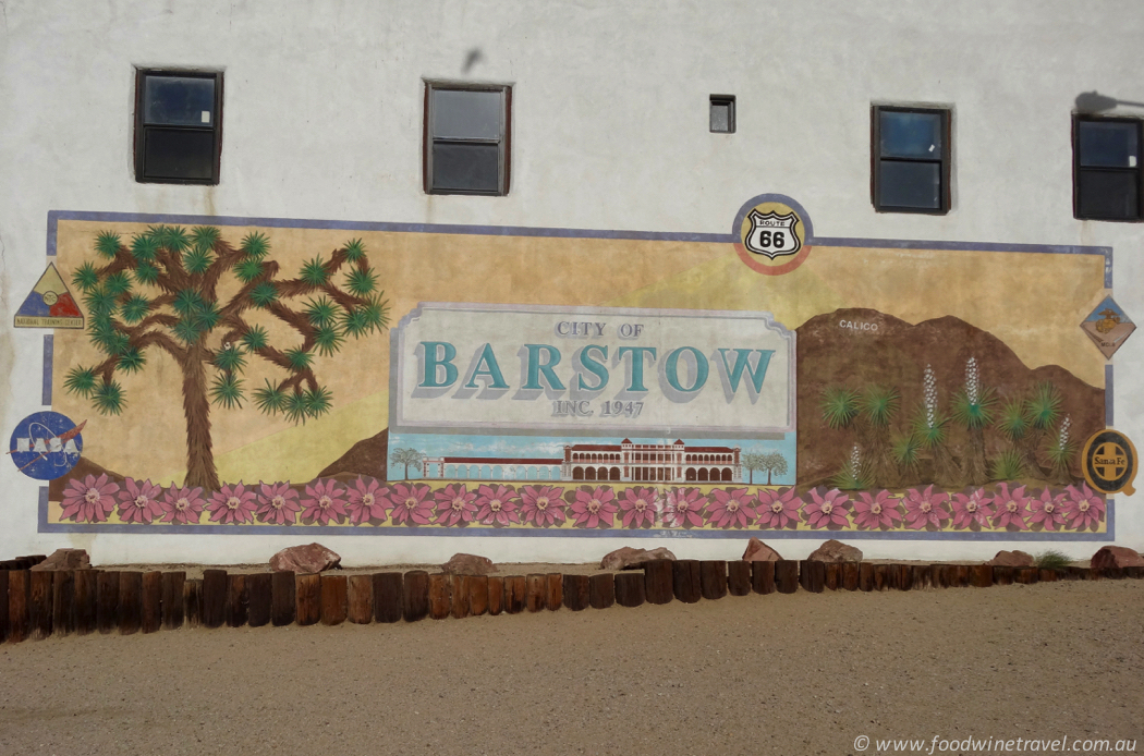 Route 66 Barstow Sign