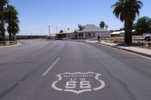 Motoring East On Route 66