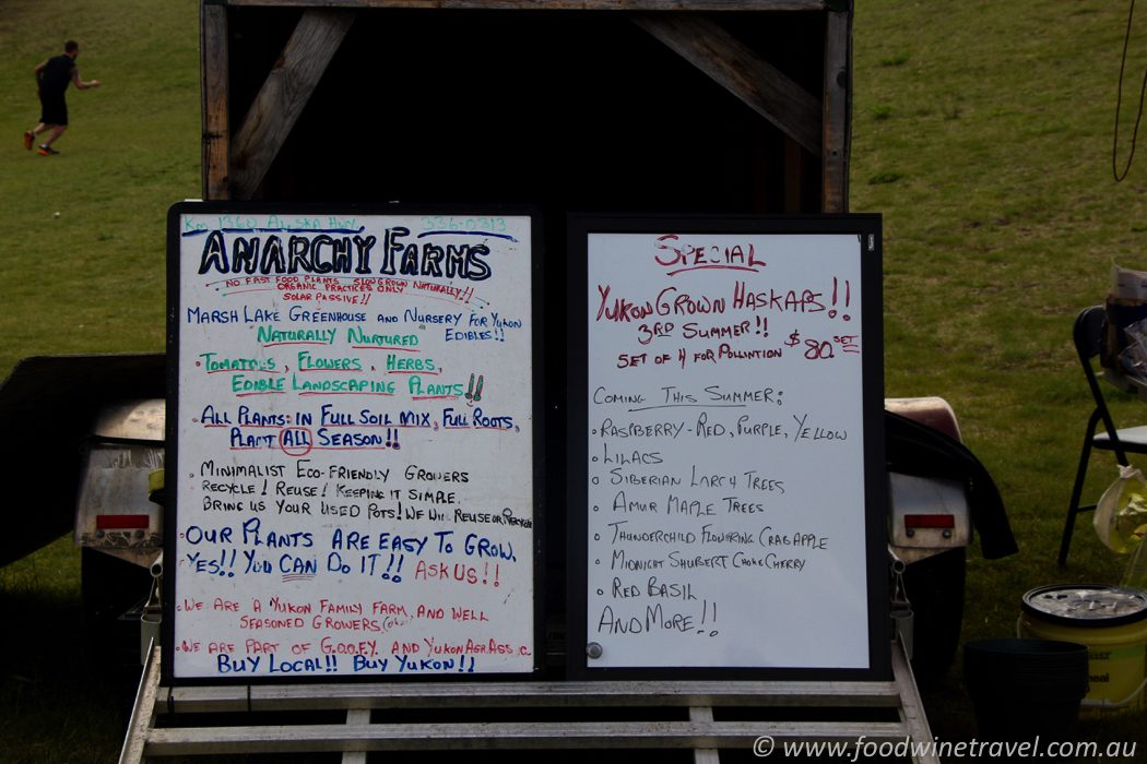 Anarchy Farms Fireweed Community Market Whitehorse