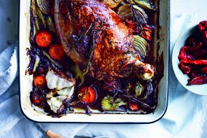 6 Hour Slow Roasted Lamb Shoulder from In The Kitchen by Simmone Logue