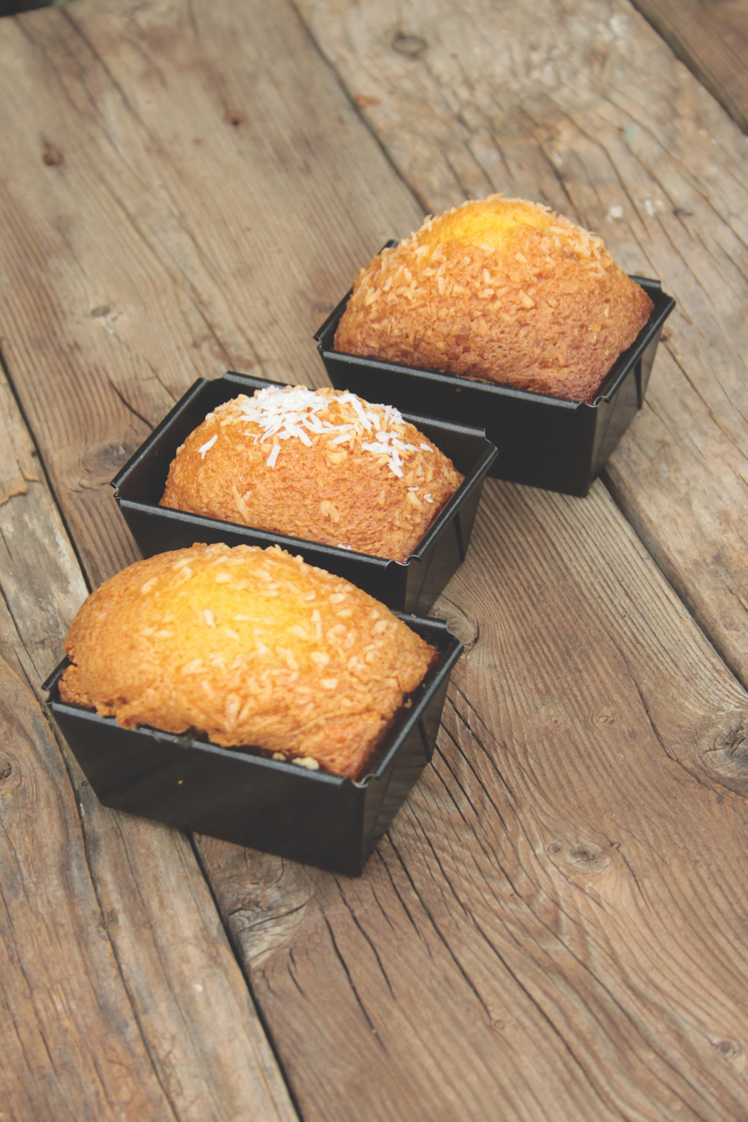 The Vegetarian Italian Kitchen Coconut Cakes