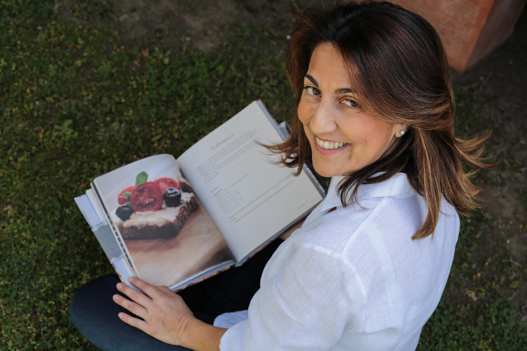 The Vegetarian Italian Kitchen author Veronica Lavenia