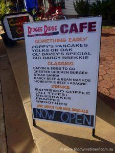Ridgee Didge Cafe Barcaldine