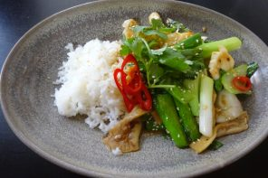 Cuttlefish Golden Pig cooking school