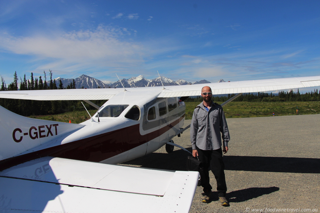 Whitehorse Air pilot Alex.