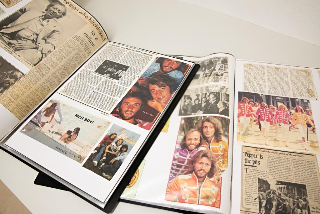 Bee Gees collection at the State Library of Queensland
