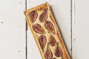 Food For Sharing Italian-Style fig and almond tart