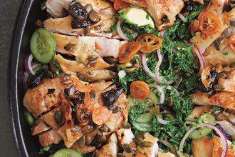 Savour Salads for all Seasons Peter Gordon roast chicken