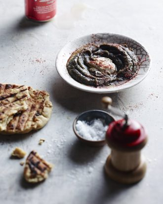 Smoky eggplant dip, The Natural Cook, Matt Stone
