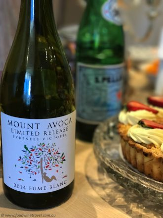 Mount Avoca Fume Blanc Wednesday Wine Pick, Christine Salins Wine Reviews