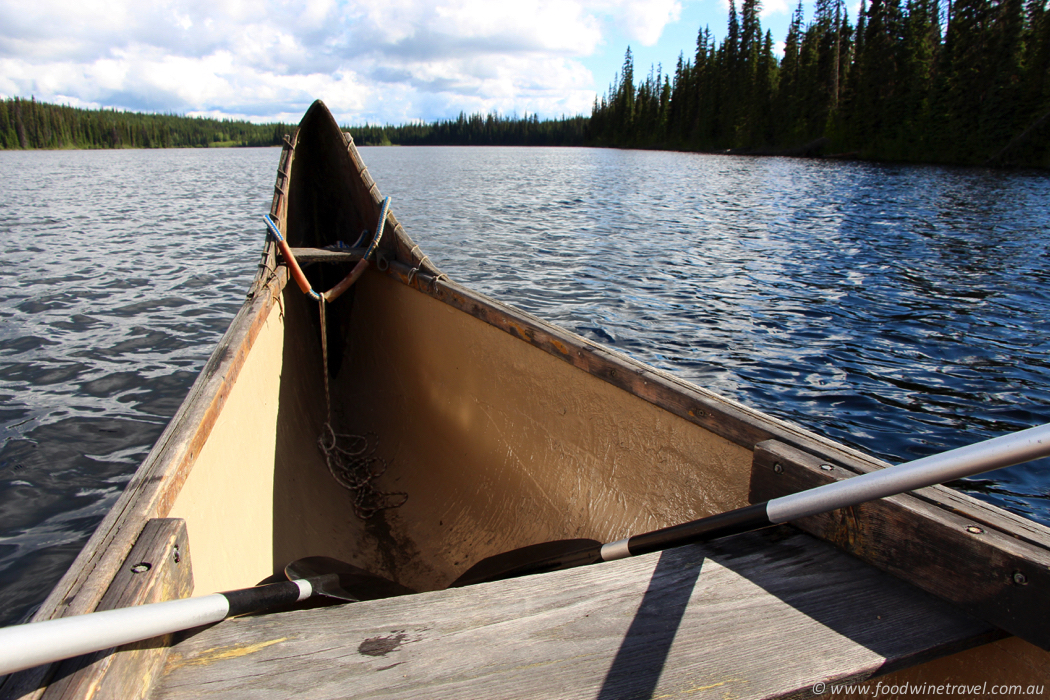 Voyageur Canoe Tour & Fur Traders Feast, B C , Canada - Food
